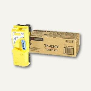 Kyocera Toner für Laserdrucker FS-C8100DN, gelb, TK820Y