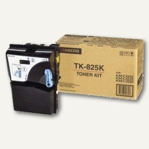Kyocera Toner für Laserdrucker KM-C2520, schwarz, TK825K