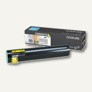 Lexmark Tonerkassette, gelb, C930H2YG
