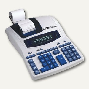Ibico Druckender Tischrechner 1232X, 12-stellig, IB404108