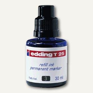 Edding Nachfülltusche T 25, blau, permanent, 30 ml, T 25-003