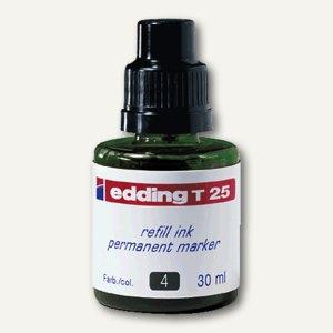 Edding Nachfülltusche T 25, grün, permanent, 30 ml, T 25-004