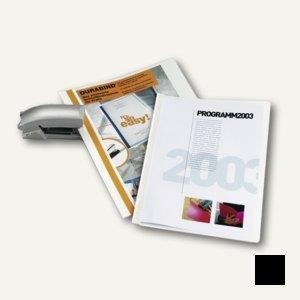 Durable Präsentationshefter Durabind DIN A4, 30 Blatt, schwarz, 2250-01