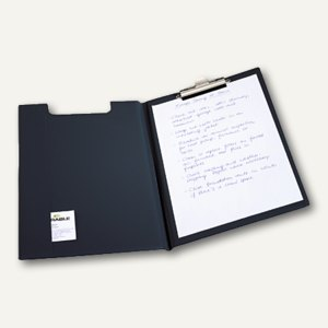 Durable Blockmappe Standard DIN A4, Metallklemme, schwarz, 2357-01