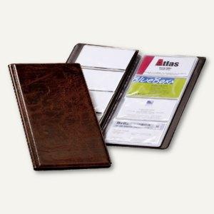 Durable Visifix Visitenkartenalbum 96 Karten 2380-11 braun