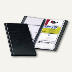 Durable Visifix Visitenkartenalbum 96 Karten, schwarz, 2380-01