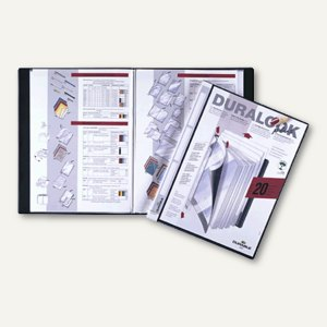 Duralook Plus Sichtbuch DIN A4 mit 20 Hüllen