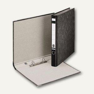 LEITZ Ringordner DIN A4 hoch, Rückenbreite 35mm, schwarz, 10400000