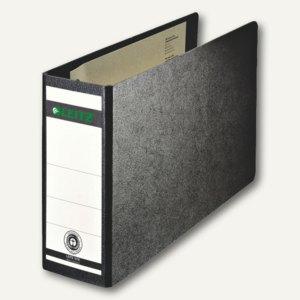 LEITZ Ordner DIN A5 quer, Rückenbreite 56mm, schwarz, 10660000
