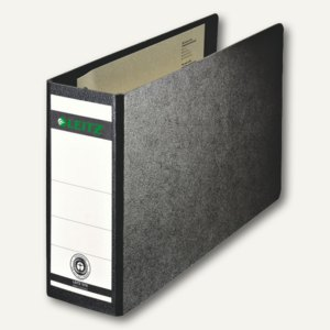LEITZ Ordner DIN A5 quer, Rückenbreite 77mm, schwarz, 10760000