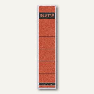 LEITZ Rückenschilder, breit/lang, rot, 10 Stück, 1640-00-25