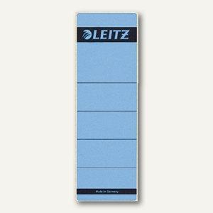 LEITZ Rückenschilder, breit/kurz, blau, 10 Stück, 1642-00-35