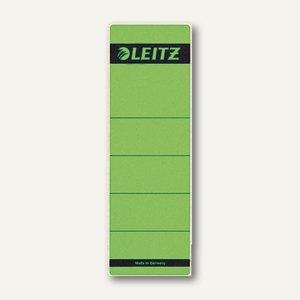LEITZ Rückenschilder, breit/kurz, grün, 10 Stück, 1642-00-55