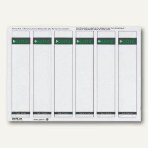 Rückenschilder für PC-Beschriftung