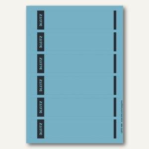 Rückenschilder für PC-Beschriftung, schmal/kurz, blau, 150 Stück, 1686-20-35