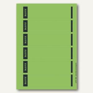 Rückenschilder für PC-Beschriftung, schmal/kurz, grün, 150 Stück, 1686-20-55