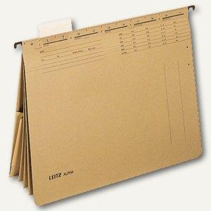 LEITZ Mehrfachhefter mit Tasche, kaufmännische Heftungen, 19830000
