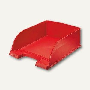 LEITZ Briefkorb Jumbo, 255x103x360 mm, stapelbar, rot, 5233-00-25