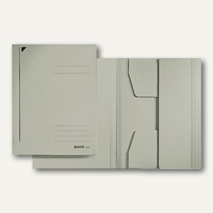 LEITZ Jurismappe DIN A4, 300 g/m², bis 250 Blatt, grau, 3924-00-85