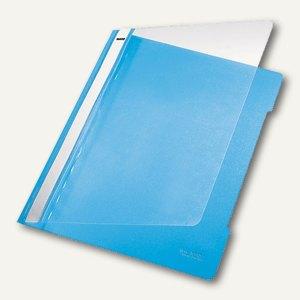 LEITZ Kunststoff-Schnellhefter PVC, DIN A4, 250 Blatt, hellblau, 4191-00-30