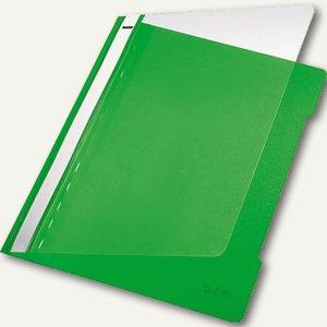 LEITZ Kunststoff-Schnellhefter PVC, DIN A4, 250 Blatt, hellgrün, 4191-00-50