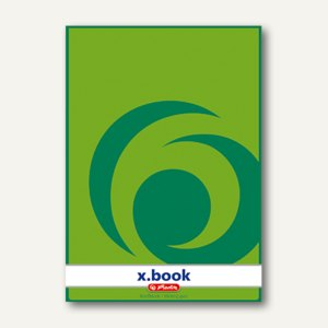 Herlitz Briefblock x.book DIN A4, blanko, 70 g/m², 50 Blatt, 717405