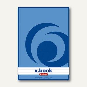 Herlitz Briefblock x.book DIN A5, liniert, 70g /m², 50 Blatt, 717512