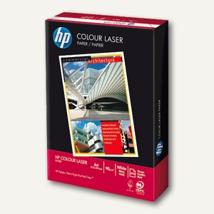 "HP Farblaser-Papier ""Colour"", DIN A4, 90 g/m², weiß, 500 Blatt, CHP370"
