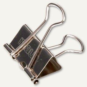 "MAUL Foldback-Klemmer ""mauly 215"", B:19 mm, Weite: 7mm, nickel, 12 Stück,2151996"