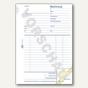 Zweckform Formular Rechnung DIN A5, 3 x 50 Blatt, 700