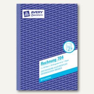 Zweckform Formular Rechnung DIN A5, 2 x 50 Blatt, 704