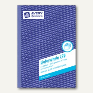 Formular Lieferschein mit Empfangsschein DIN A5 2x50 Blatt