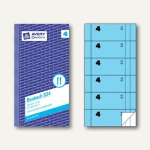 Formular Bonbuch mit Kellner-Nr. 4
