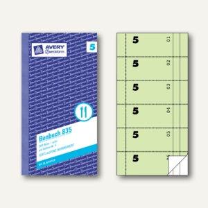 Formular Bonbuch mit Kellner-Nr. 5