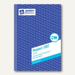 Formular Rapport DIN A5 hoch