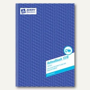 Zweckform Formular Aufmaßbuch DIN A4, hoch, 100 Blatt, 1318