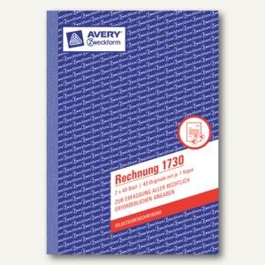 Formular Rechnung DIN A5 selbstdurchschreibend 2x40 Blatt