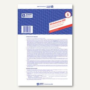 Artikelbild: Kaufvertrag für ein gebrauchtes KFZ