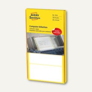 Artikelbild: Adress-Etiketten für Schreibmaschinen