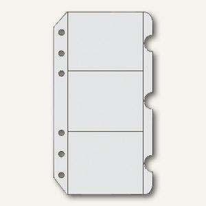 Chronoplan Zeitplaner Visitenkartenhüllen, DIN A6, 3 Stück, 50336