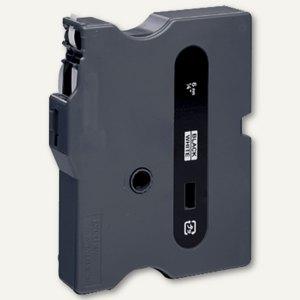 Brother Beschriftungsband 6 mm, schwarz auf weiß, TX-211