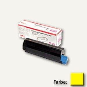 OKI Lasertoner, geeignet für C5600/C5700, gelb, 43381905