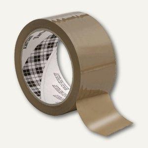 Tartan Packband 369 BOPP, 50 mm x 66 m, braun, 1 Rolle, 369B5066