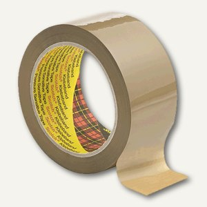 Scotch Packband 3707 BOPP, 50mm x 66m, braun, 1 Rolle, 3707B5066
