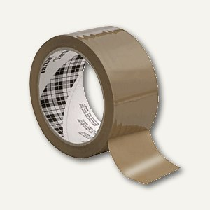 Tartan Packband 369 BOPP, 38mm x 66m, braun, 1 Rolle, 369B3866