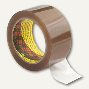 Scotch Packband 3707 BOPP, 50mm x 66m, transparent, 1 Rolle, 3707T5066