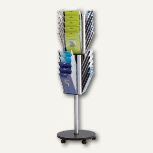 Durable Boden-Prospektständer COMBIBOXX Stand A4 L, drehbar, 8616-19