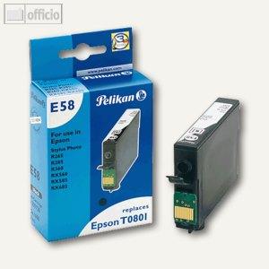Pelikan Tintenpatrone E58, schwarz, 9 ml, 359728