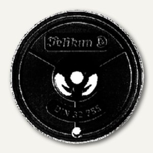 Farbband Gr.1 Triumph-Adler Seide schwarz/rot