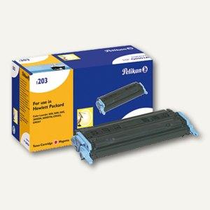Pelikan Toner 1203, kompatibel zu HP Q6003A, magenta, 2000 Seiten, 629425